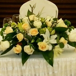 Сватбена украса за маса NV490