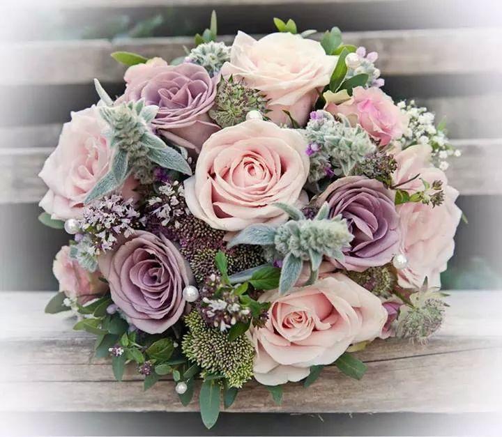 Сватбен букет рози, букет дзержинск чкалова