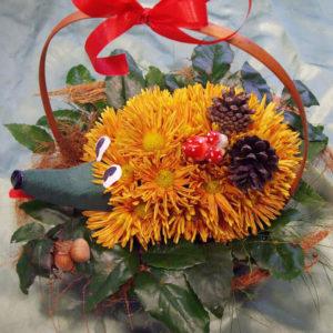 Таралежче от цветя