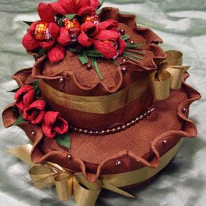 Торта от бонбони