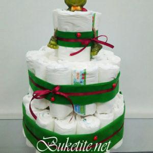 Торта от памперси NV683