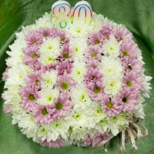 Торта от цветя T20116