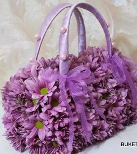 Чанта от цветя CH002