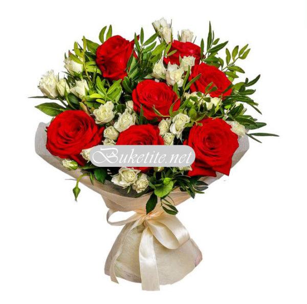 Букет от рози B058