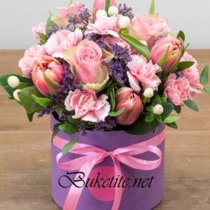 1 Кутия с пролет цветя 65 лв