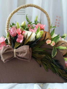 Чантичка от цветя PB044